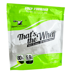 Sport Definition That's The Whey 300 g DATA 09/2021