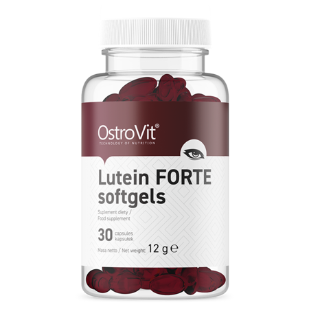 OstroVit Lutein FORTE 30 softgels